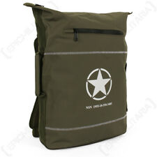 US Liberator Bag with Military Star design - Lightweight, Water Repellent