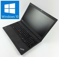 "Lenovo ThinkPad T540p 15"" Intel Core i5-4200M 8GB RAM 128GB SSD DVD-RW Win10Pro"