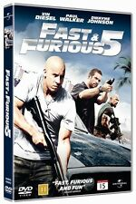 * NEW DVD Film * FAST AND FURIOUS 5 * DVD Movie *