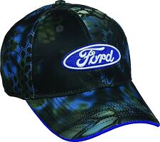 Ford Kryptek Neptune Camo Men's Hat New With Tags