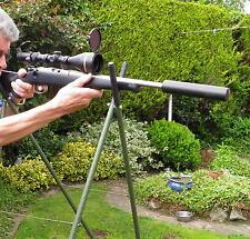 FOX / DEER / RABBIT QUAD SHOOTING STICKS / FOR 100 % STEADY ACCURACY