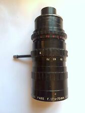 Angenieux Zoom lens  17.5 -70mm f2.2 lens Arriflex mount for Sony, Canon & Nikon