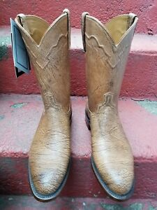 NEW $499 Mens Lucchese Vernon Limited Edition Cowboy Boots Shoes, size 10