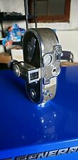Vintage KEYSTONE 16mm A-15 Newport Deluxe Movie Camera & Case and extra lenses