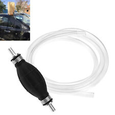 Fuel Primer Hand Siphon Pump Oil Gas Petrol Diesel Liquid Water Transfer Hose
