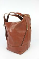VINTAGE Great backpack / Shoulder NEW STYLE Brown Leather VERY GOOD CONDITION