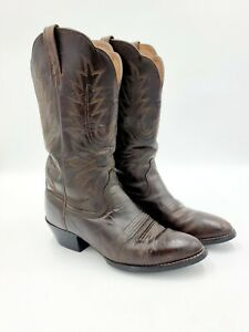 Ariat Womens Heritage Western R-Toe Boots (10001021) Distressed Brown 5.5C