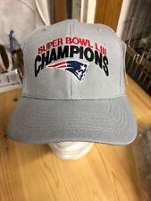 Super Bowl Champions LIII New England patriots Gray Baseball Hat 53 d6f37edd4