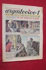 rivista a fumetti ARGENTOVIVO ED. LA TRIBUNA ANNO II N.47 (1937)