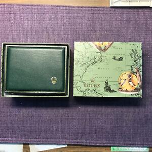 Vintage Authentic 90's Rolex 11.00.71 Green Box;case. W/ Repair pillow❗️