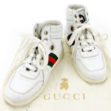 GUCCI sneaker kids webbing line girls boys available Authentic Used T4036