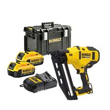 DeWalt DCN660M2 2nd Fix Gasless Nailer 18v 4.0Ah DCB182 Batteries DCN660