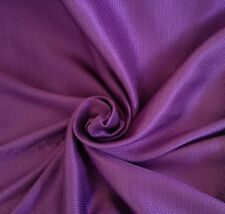 5 Metres Laura Ashley Crochet Weave Aubergine Sateen Brocade Curtain Fabric