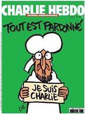 """CHARLIE HEBDO """"tout est pardonné"""" n° 1178 mercredi 14 janvier 2015"""