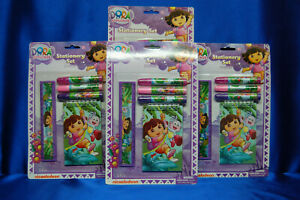 Dora Stationary Set 4 Pk Juego estacionario Dora, paquete de 4 Dora Favors