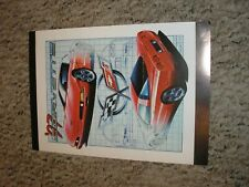 New ListingRare Vintage Franklin Mint 1997 '97 Chevy C5 Corvette Document Free Shipping