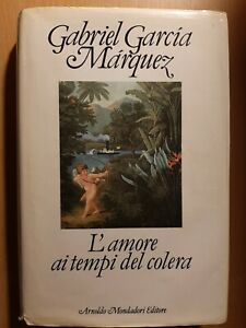 LIBRO GABRIEL GARCIA MARQUEZ L'AMORE AI TEMPI DEL COLERA ED. MARZO 1986