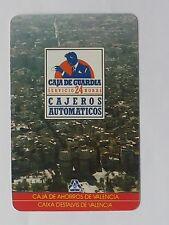 CALENDARIO FOURNIER CAJA DE AHORROS DE VALENCIA 1989.