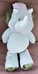 "NEW 20"" Kelly Baby Plush Dinosaur Rattle Toy Nursery Decor Lovey FREE SHIPPING!"