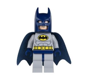 Lego Batman 6860 6857 Dark Blue Mask and Cape Super Heroes Minifigure