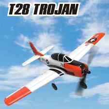 "RC T-28 Trojan Micro RC Airplane Plane W/ Gyro Stabilization 2.4ghz RTF 16"" WS"