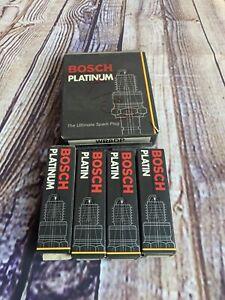 BOSCH PLATINUM SPARK PLUG 4018 in ORIGINAL BOX (1 set of 4 PLUGS) WR8DP
