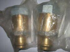 2x Viega Sanpress 588564 (2215.6) Übergangsstück von Stahlrohr auf Presssysteme