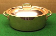 COPPER/ OVAL COPPER POT TIN LINED MADE IN FRANCE
