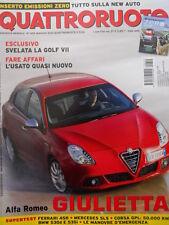 Quattroruote 655 2010  - Alfa Romeo Giulietta - test Ferrari 458  [Q37]