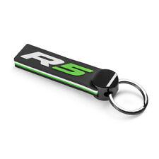 Skoda Motorsport Schlüsselanhänger R5 Schwarz Grün Weiß Keyring