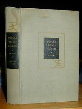 1938 Uncle Tom's Cabin, Life Among Lowly, Harriet Beecher Stowe, Modern Library