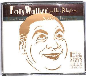 EBOND  Fats Waller & His Rhythm  – Fractious Fingering CD CD033152