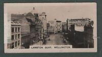 Lambton Quay Wellington Cook Strait New Zealand 1920s Trade Card