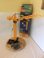 Building Crane Remote Control 21� High Hook Rises & Lowers Tested Works