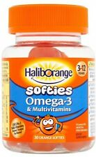 Kids Omega 3 Multivitamin Orange Softies Pills Monthly Pack Vitamins For Kids