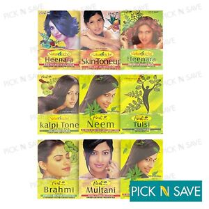 Herbal Amla Aritha Shikakai Brahmi Kalpi Tone Powder Hair Growth SkinCare Hesh