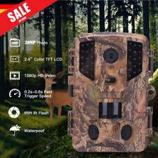 Wildkamera kamera 1080P 20MP Jagdkamera Fotofalle PIR Nachtsicht Wasserdicht DE