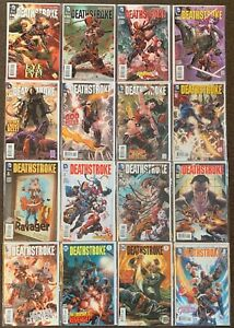 Deathstroke #2,3,4,5,6,7,8,9,9,12,13,17,18,19,20 annual 1 DC Comics The New 52