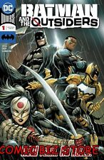 BATMAN AND THE OUTSIDERS #1 (2019) 1ST PRINTING KIRKHAM MAIN COVER DC UNIIVERSE