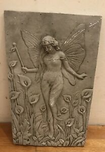 Latex Mould for making this Lovely Fairy Plaque .