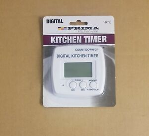 NEW Digital Kitchen Food Timer Stopwatch Alarm LCD Magnetic Back