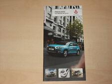 59426) Mitsubishi Colt Lancer ASX Pajero Preise & Extras Prospekt 09/2010