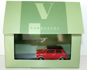 VANGUARDS 1/43 VA02512 MINI COOPER S 40TH ANNIVERSARY RED