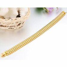 Stainless Steel Yellow Gold Costume Bracelets