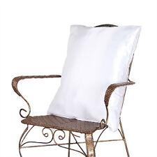 "2 x Silk Satin Pillow Cushion Cover Case 20x30"" Decorative New"