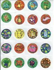 *RARE/Vintage* Pokemon Go Semi-Complete Set of 50 - 1st Series Tazos/Taso/Pogs