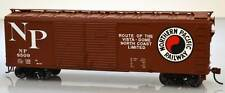 Bowser NORTHERN PACIFIC 40' Box Car KITS (3 car #'s available)NEW w/Metal Wheels