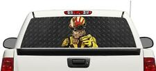 Five Finger Death Punch Skull rear window perforated graphic Decal Truck SUV