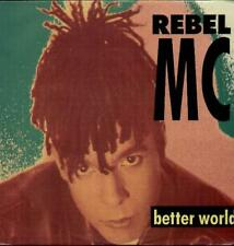 "REBEL MC Better World  12"" Ps, Peace Mix/Unity Mix"