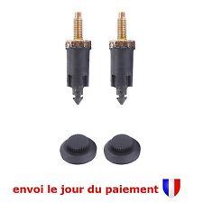 Kit 2 Clips + 2 Vis de Fixation Cache Moteur  2.0L HDi pour Peugeot Fiat Citroën
